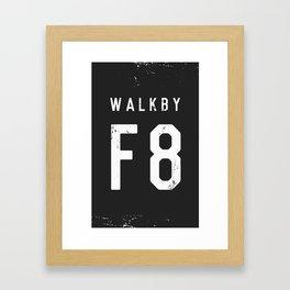 Walk by 'F8' (2) Framed Art Print
