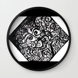 Anxious Me Wall Clock
