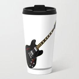Black Semi Solid Guitar Travel Mug