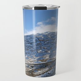 The Drive to Cardrona Ski Fields from Queenstown, New Zealand Travel Mug