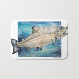 King Salmon Bath Mat