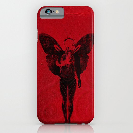 butterfly man v 2 iPhone & iPod Case