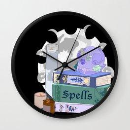 Skull Magic Wall Clock