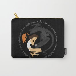 Ripley, the Alien and Jonesy Carry-All Pouch