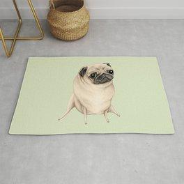 Sweet Fawn Pug Rug
