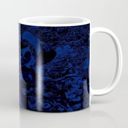 Painted Blue Coffee Mug