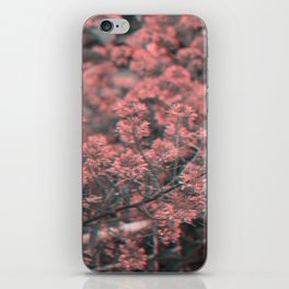 Anaglyph Florals iPhone Skin