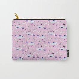 Rococo pink Vaquita Carry-All Pouch
