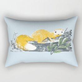 Cute Japanese Marten (c) 2017 Rectangular Pillow