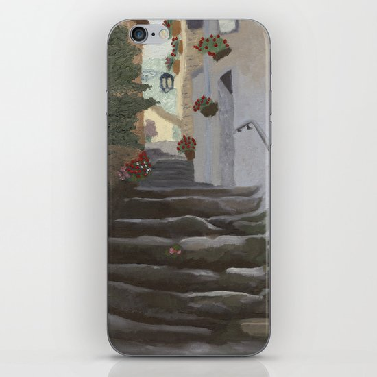 Italian Street and Stairs  iPhone & iPod Skin