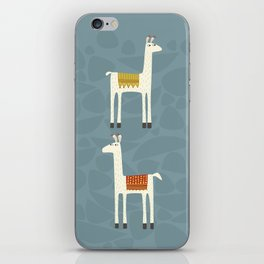 Everyone lloves a llama iPhone Skin
