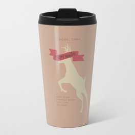 The Deer Hunter, Minimal movie poster, Michael Cimino film, alternative, Christopher Walken, De Niro Travel Mug