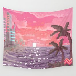 8-bit Bay Wall Tapestry