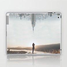 Between Earth & City Laptop & iPad Skin