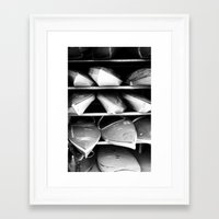 rowing Framed Art Prints featuring Rowing Club by Lemon Feather