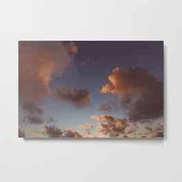 Tropical Dream Clouds Metal Print