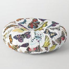 butterfly pattern Floor Pillow