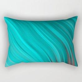 stripes wave pattern 1 2sv Rectangular Pillow