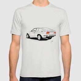 Cars and Coffee - Alfa Romeo Alfetta GTV T-shirt