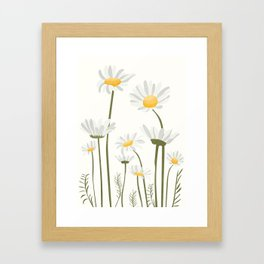 Summer Flowers III Framed Art Print
