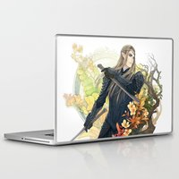 thranduil Laptop & iPad Skins featuring Thranduil  by kagalin