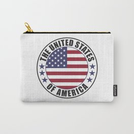 The United States of America - USA Carry-All Pouch