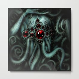Cthulhu blues Metal Print