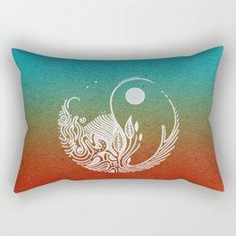 Wandering Days Rectangular Pillow