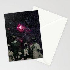 Untergang · Der Blick ins Universum Stationery Cards
