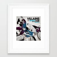 magnani Framed Art Prints featuring PRINT Nº006 by Gianmarco Magnani
