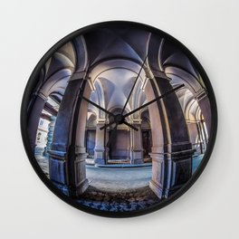 Postcards from Poland Wall Clock