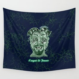 Money and Power Wall Tapestry