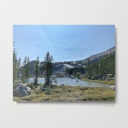 Circa Leprechaun Lake Enchantments Washington Metal Print