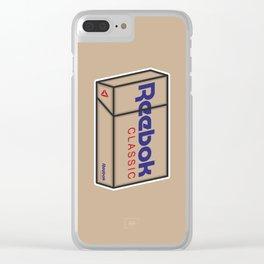 Smoke Box 1 Clear iPhone Case