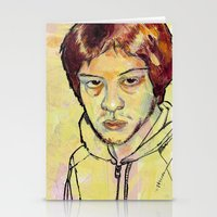 danny ivan Stationery Cards featuring Ivan by dvhstudios
