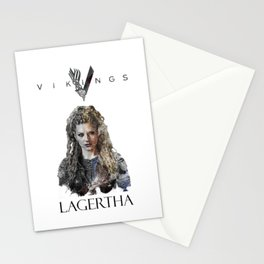 Lagertha - Vikings Stationery Cards