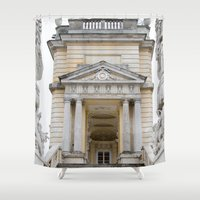 vienna Shower Curtains featuring sh vienna by F130284