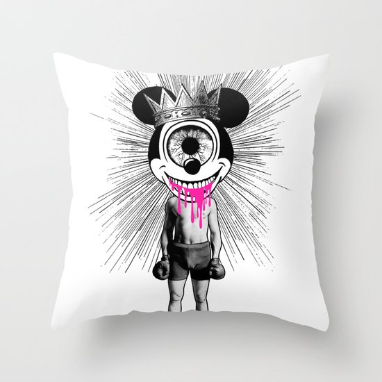 Fu…cked Up Celebrity Throw Pillow