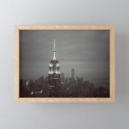 The City That Never Sleeps #2 Framed Mini Art Print