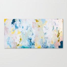 Pura White Canvas Print