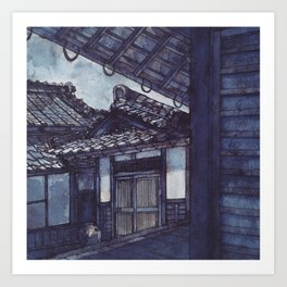 Pearls of Kyoto #2 Art Print