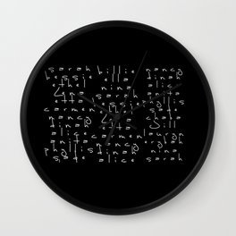 PIONEERS. Wall Clock