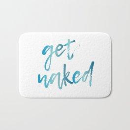 Get Naked Bathroom Decor Bath Mat