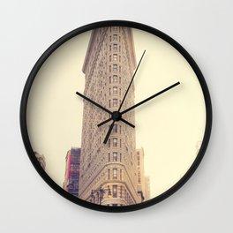 The Flatiron Wall Clock