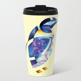 Penguin 2 (Arabic calligraphy) Metal Travel Mug