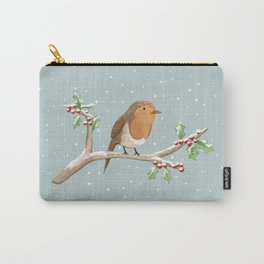Robin on Branch Carry-All Pouch