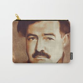 Ernest Hemingway, Author Carry-All Pouch