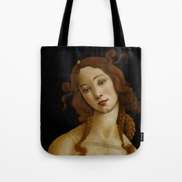 "Sandro Botticelli ""Venus"" (Sabauda Gallery, Turin) Tote Bag"