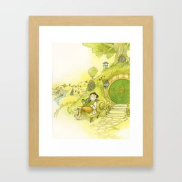 Waiting For Company Framed Art Print