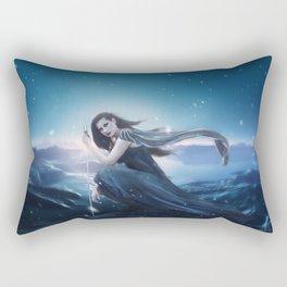 Fantasy Warrior Valkyrie Rectangular Pillow